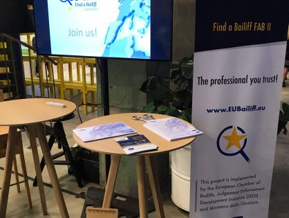FAB II at the e-justice conference, 19-20th oct. Tallinn